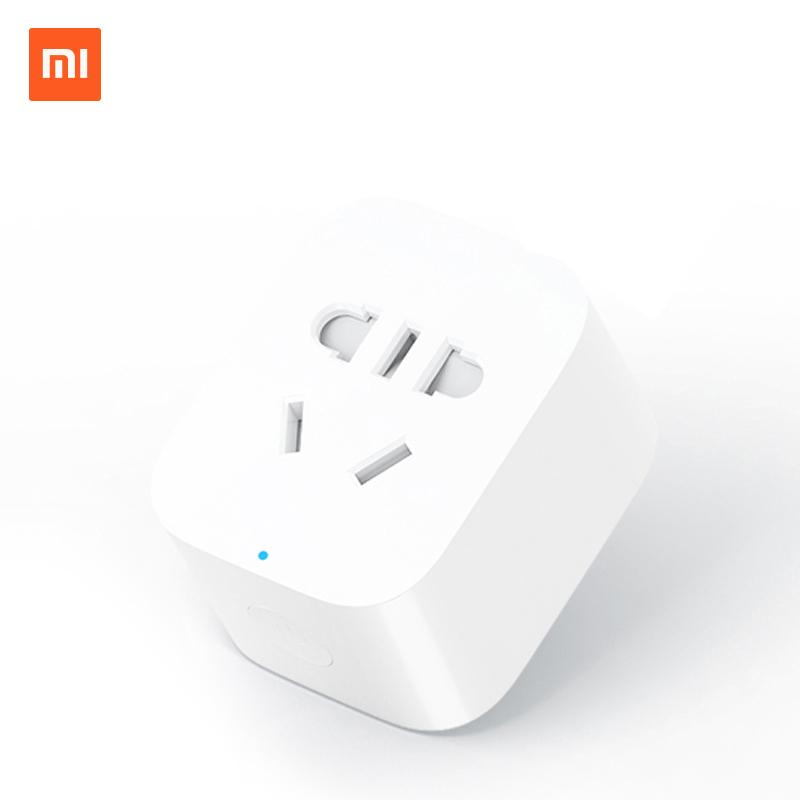 小米智能插座插头基础版插排创意电源插线板多功能wifi手机远程控制米家智能插座可搭配小爱同学智能音箱使用