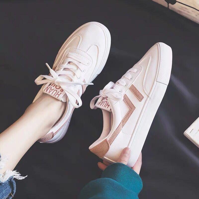 99基础小白鞋女春夏季新款韩版百搭平底板鞋休闲鞋学生网红白鞋
