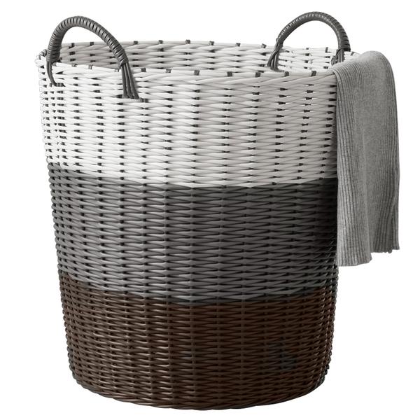 脏衣篮洗衣篮脏衣服收纳筐家用衣篓衣物北欧衣服框藤编桶子塑料篓