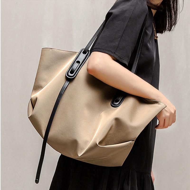 新款韩版牛津布简约单肩大容量包包
