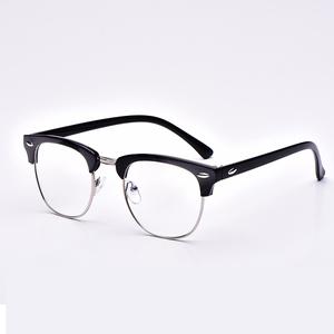 防辐射眼镜男款女款防蓝光配近视眼睛架平光眼镜框潮复古圆框韩版