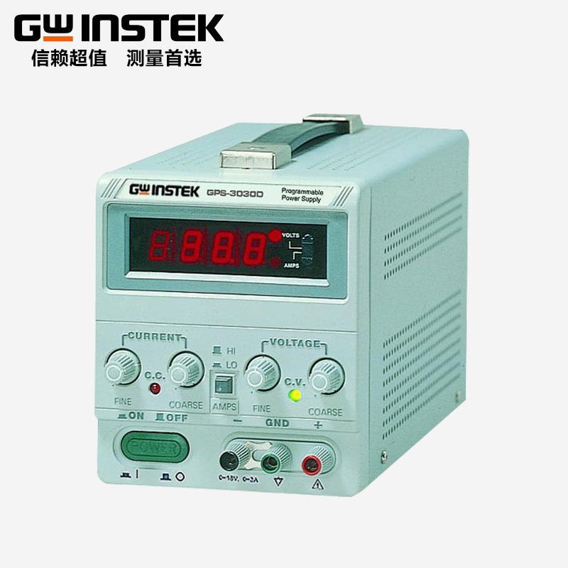 固纬线性直流稳压电源单路输出54W~90W小体积便携GPS-3030D