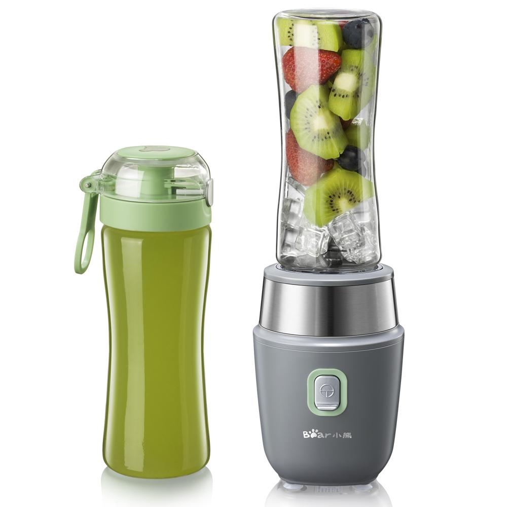 小熊榨汁机家用迷你学生电动榨汁杯便携式水果汁全自动果蔬多功能