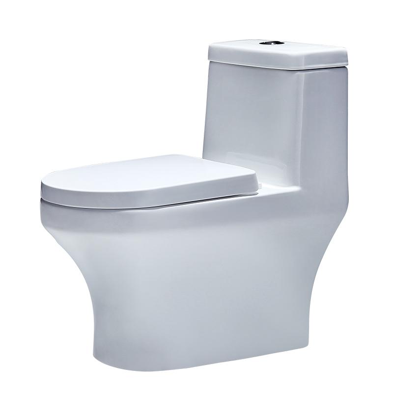 四季沐歌抽水马桶家用陶瓷坐便器小户型卫生间座便器防臭静音坐厕