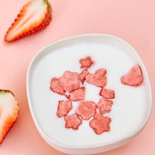 益开食草莓溶豆豆益生菌宝宝儿童健康零食食品送婴幼儿辅食食谱
