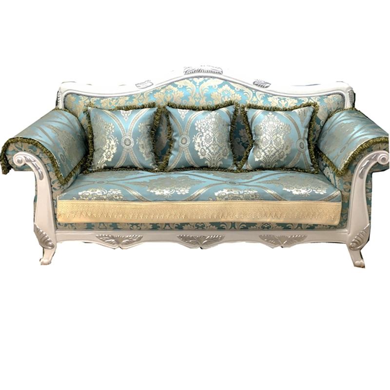 欧式风情沙发套,给沙发换个样儿图片