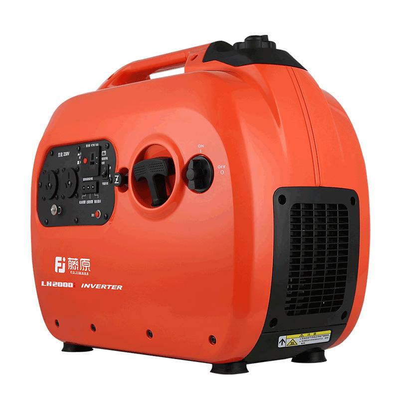 藤原汽油发电机 220V小型家用房车户外便携式数码变频低音发电机