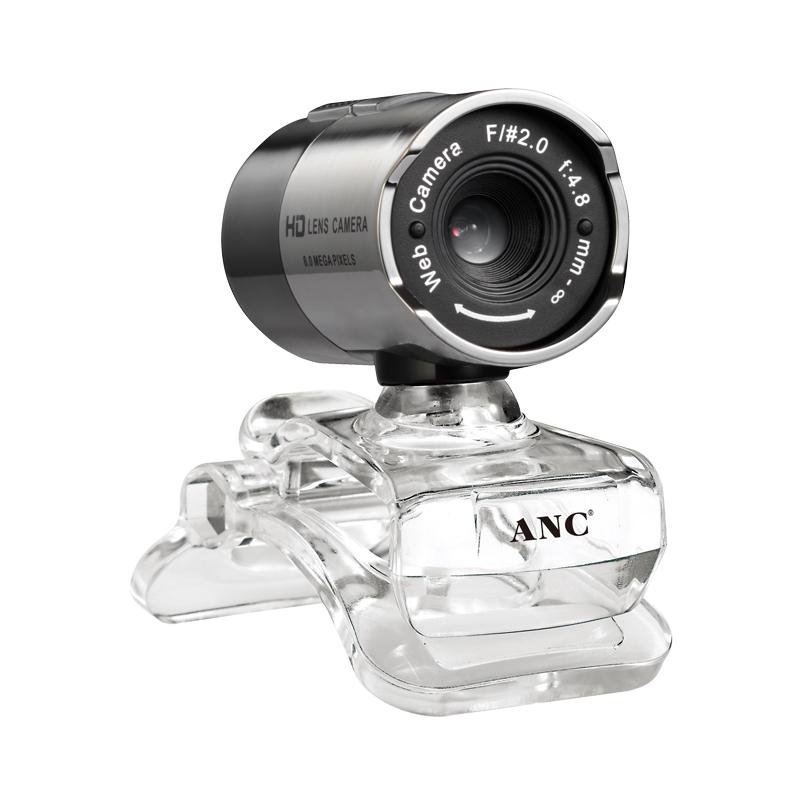 奥尼ANC狼魔高清摄像头台式电脑笔记本免驱动带麦克风夜视USB视频