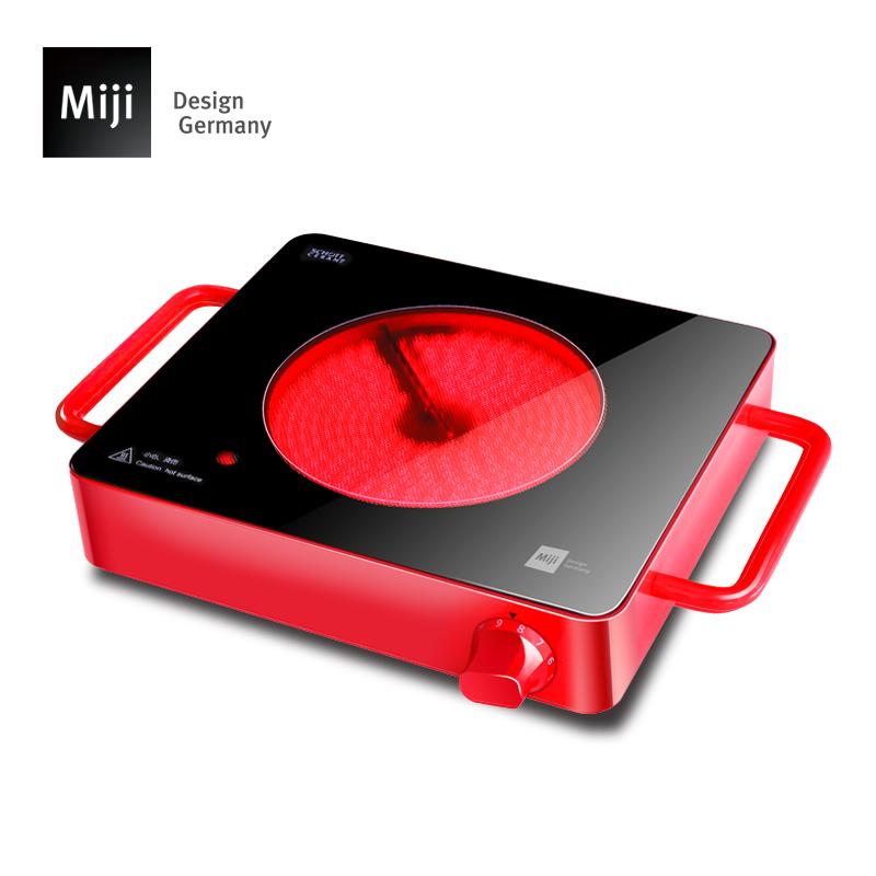 德国米技-Miji cube1进口部件家用电陶炉烧烤火锅静音台式辐热炉