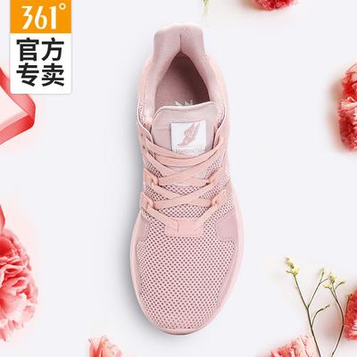 361运动鞋女网面黑粉色2018夏季新款正品跑步鞋透气韩版ins原宿风