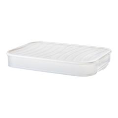 纳川家用冰箱多层水饺子盒分格冷速冻饺子馄饨保鲜收纳盒饺托盘