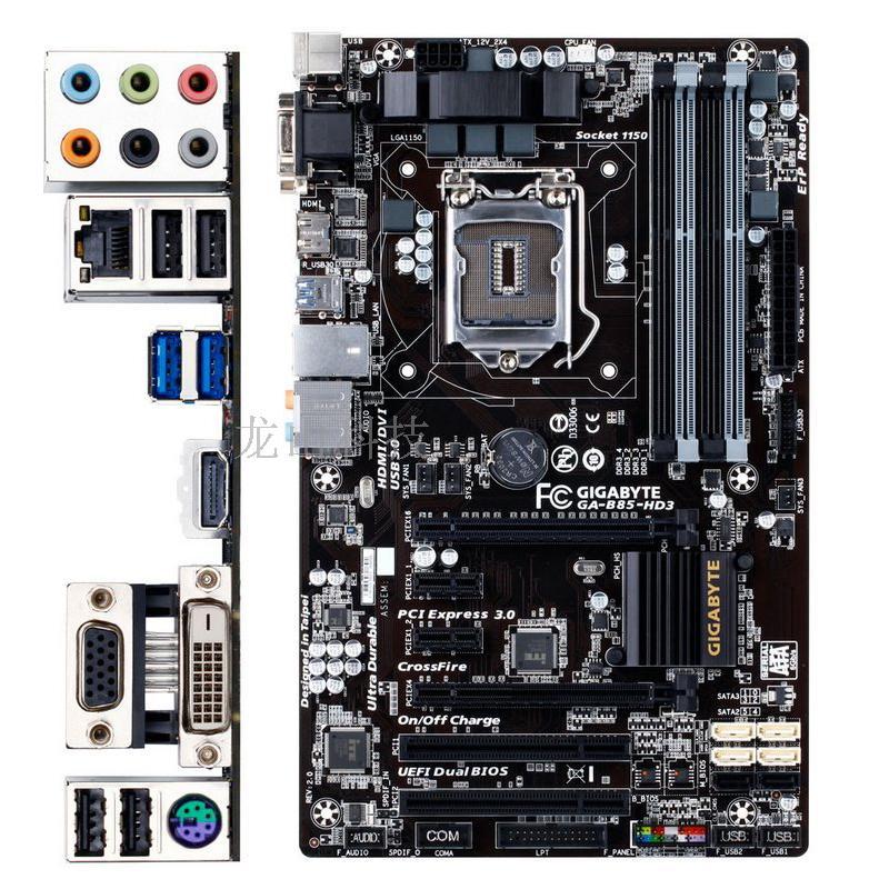 一年間の箱のGiggabyte/嘉B 85-HD 3 A D 3 V B 85プレート1150はPCI溝4590を持ちます。,タオバオ代行-代行奈々