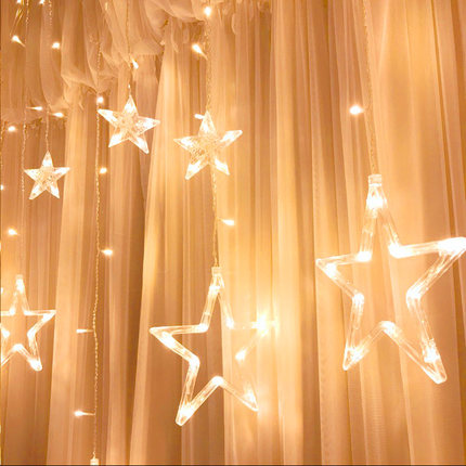 Decorative Lights Girls Hearts Stars Lanterns Lights Strings Lights Curtains Bedrooms Romantic