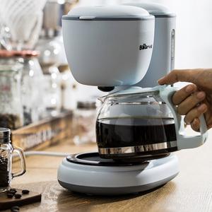 小熊咖啡机家用小型全自动美式滴漏式迷你煮咖啡煮茶壶两用办公室