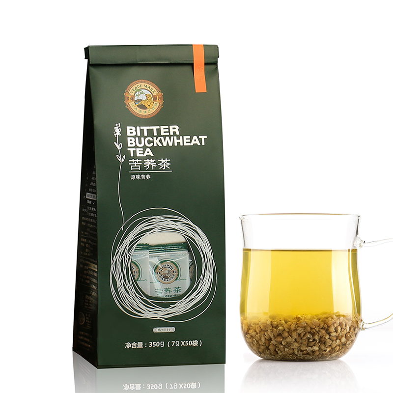 虎标苦荞茶350g 内含50小包 全颗粒苦荞茶四川凉山全胚芽荞麦茶