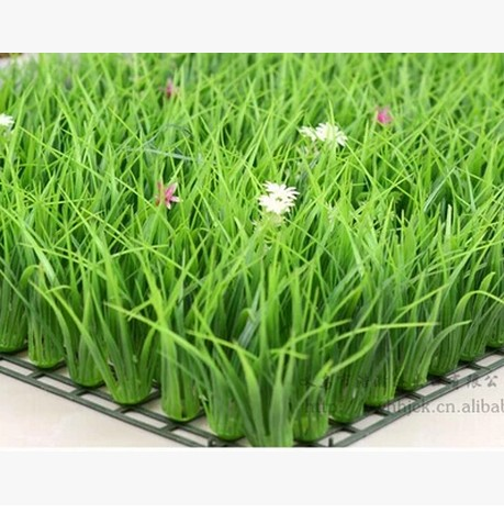Fake lawn simulation lawn artificial grass high grass indoor balcony artificial fake turf plastic lawn plant wall