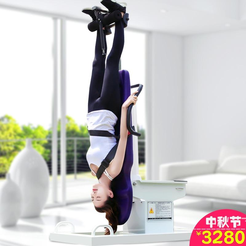 长高拉伸神器家用牵引床倒挂健身器材颈椎腰椎间盘增高电动倒立机