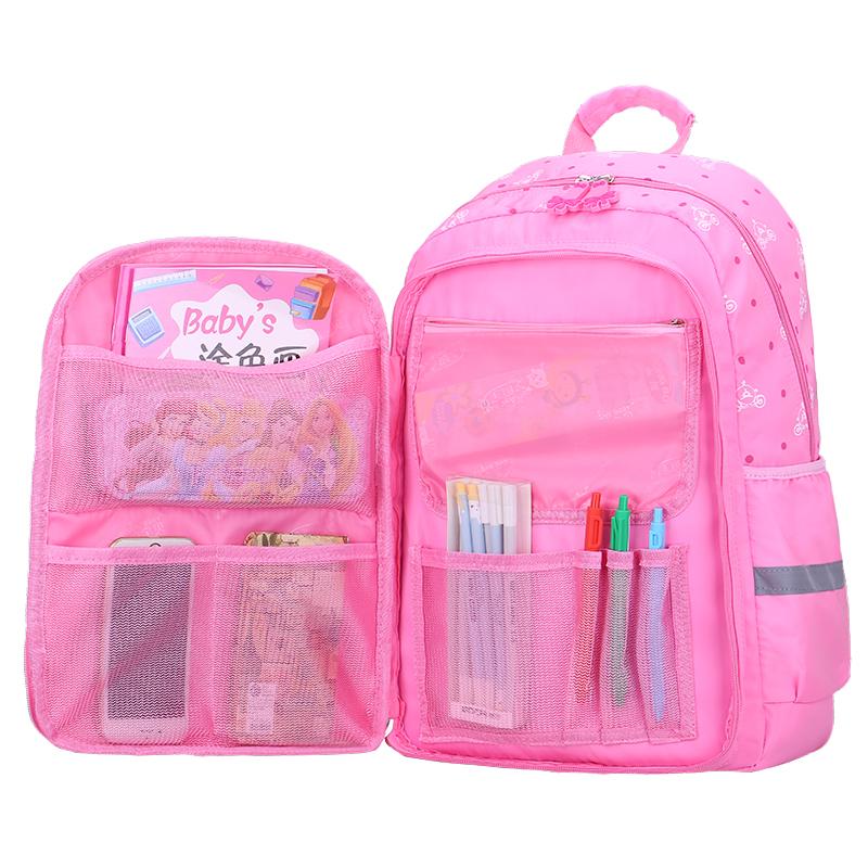儿童书包女孩1-3-4-5-6年级减负护脊公主双肩背包女童书包小学生