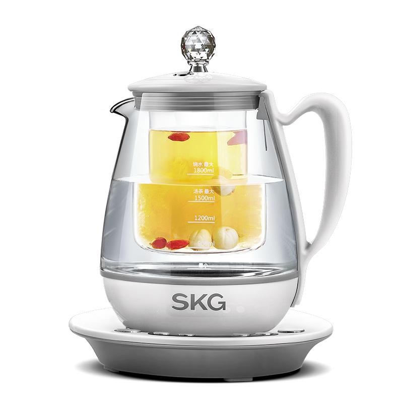 SKG 8074S燕窝壶隔水炖煮养生壶全自动加厚玻璃炖燕窝炖盅燕窝机