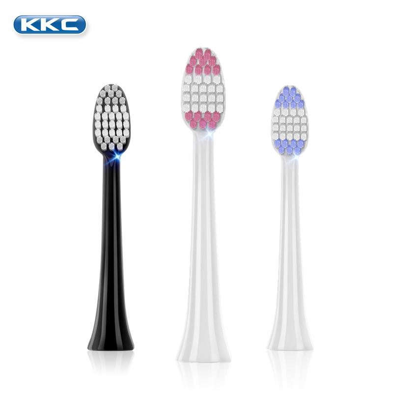 原装KKC电动牙刷头4支装-8支装高效清洁护齿刷头替换原厂正品
