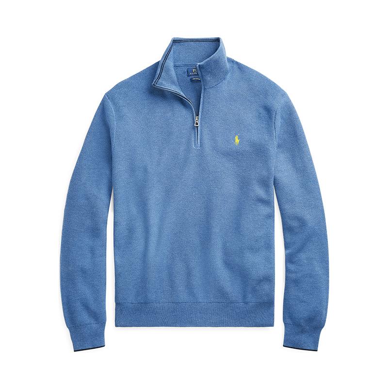 Polo Ralph Lauren男装 2018年秋季棉质半拉链毛衫RL10703