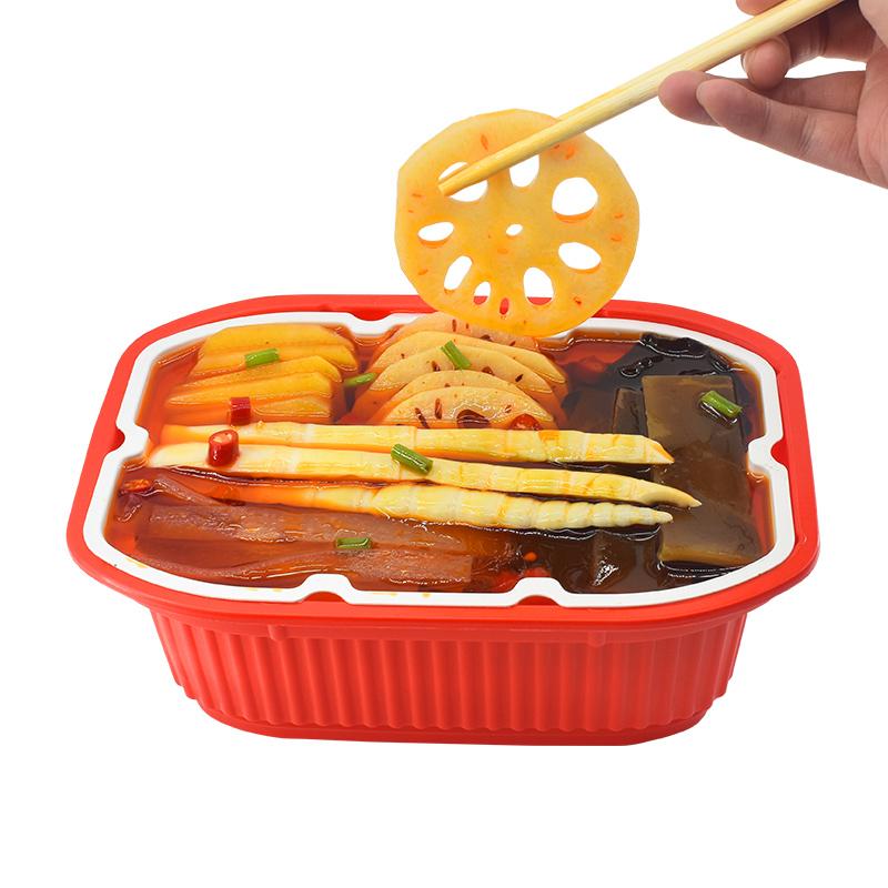 威其诺自热小火锅速食网红自煮自助懒人火锅微辣素菜版即食麻辣烫