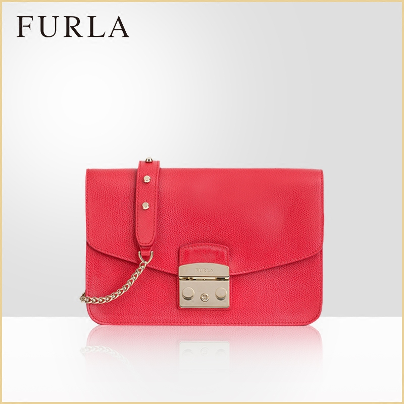 Furla Fula Metropolis Small Lady Candy Shoulder Bag