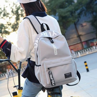Schoolbag female Korean version Harajuku ulzzang High School Student backpack Wild Campus Fashion Trend Shoulder Bag Men