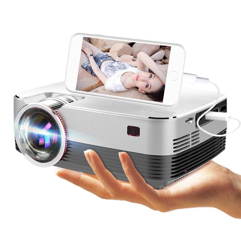 瑞视达T5手机投影仪家用办公高清微型迷你便携小投影机3D家庭影院