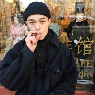 帽子冬季瓜皮帽男士韩版针织毛线帽街头流氓帽雅痞嘻哈包头冷帽潮