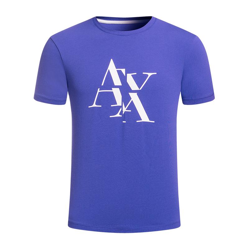 Armani Exchange阿玛尼AX2018春夏男装新款短袖T恤3ZZTAT-ZJE6Z