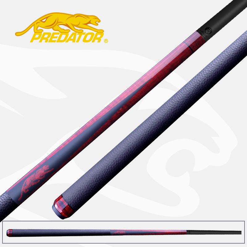 美洲豹SP2台球杆红色黑科技台球杆斯诺克九球杆碳纤维大头杆碳纤