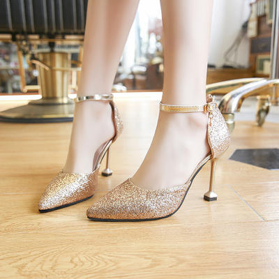 Women High Heels Working Office Shoes Party Formal Shoes 710111