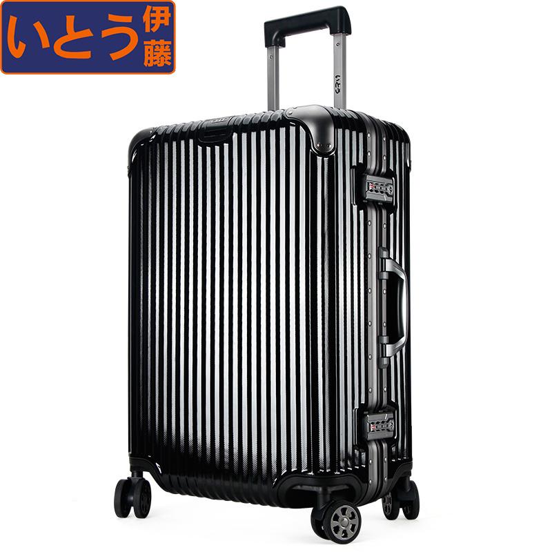 行李箱铝框PC轻便拉杆箱女 万向轮旅行箱男硬箱登机箱