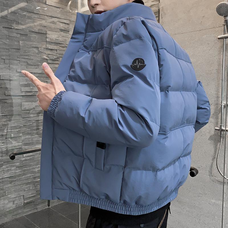 棉衣男士秋冬季外套2020年爆款潮流加厚羽绒棉服工装潮牌棉袄潮男