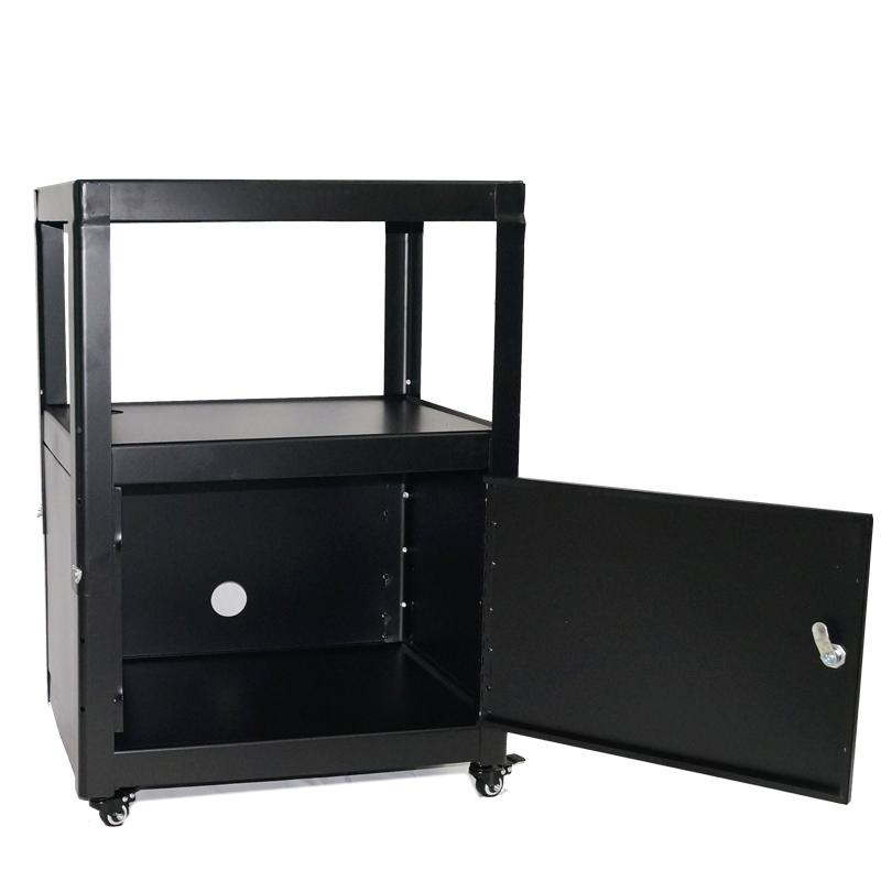 思影(CINE)Z02柜式带门带锁移动小推车带滑轮投影仪移动推车柜式电脑打印机工作台操作台投影机带门仪器车