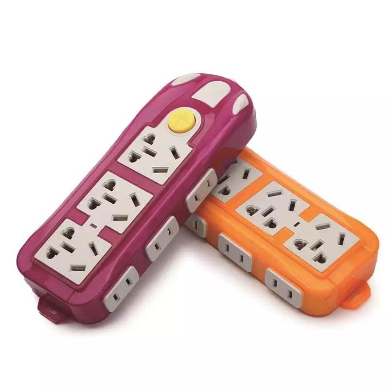 不带线插扦插座无线插排家用多功能电源接线板拖线板插线板扦排头