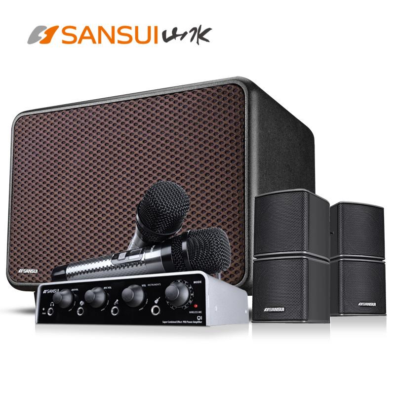 Sansui-山水 Q1家庭影院音响套装5.1高保真低音炮智能家用K歌音响