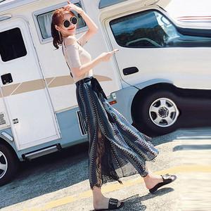 春装2018新款女韩版小香风两件套复古温柔风时髦省心搭配女装套装