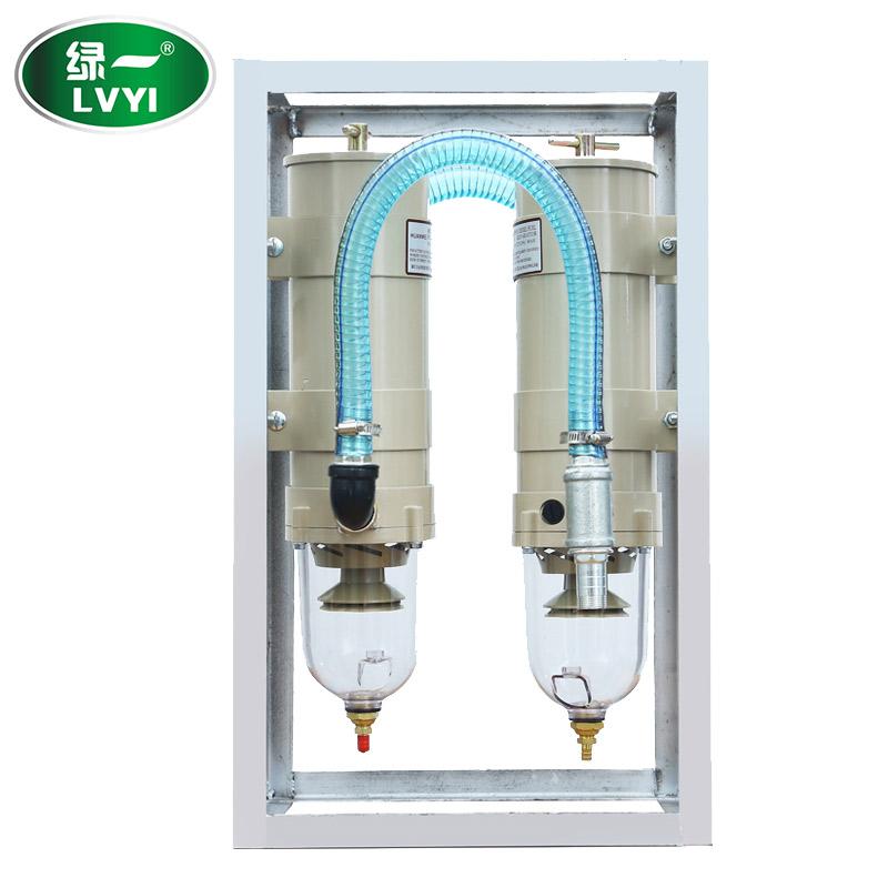 柴油过滤器加油机油水分离器绿一精密滤芯不锈钢大流量过滤器滤网