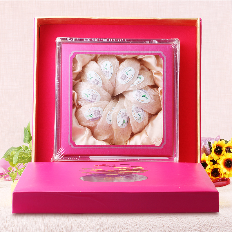 胡庆余堂燕窝 50克白燕盏礼盒印尼进口 精装燕盏礼盒 豪华礼盒