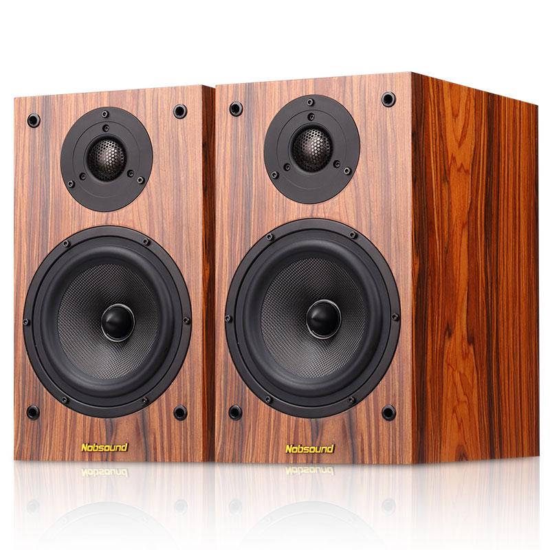 Nobsound-诺普声 DM3高保真实木hifi音箱发烧级无源6.5寸书架音响
