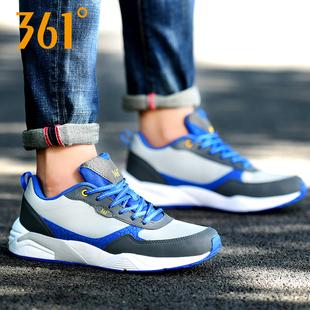 361男鞋休闲鞋复古运动鞋361度轻跑鞋轻便透气跑步鞋休闲旅游鞋