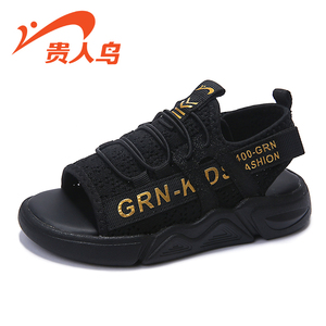 贵人鸟男童凉鞋2019新款夏季韩版潮儿童鞋子中大童男孩软底沙滩鞋