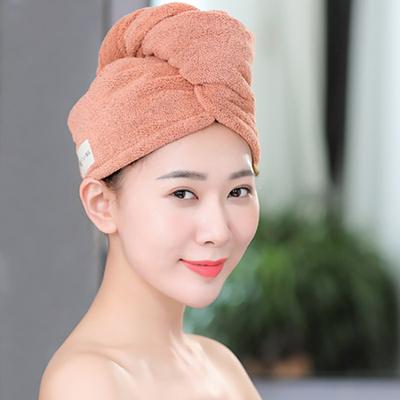 竹炭纤维干发帽女超强吸水速干帽毛巾加厚孕妇儿童包头巾擦头浴帽