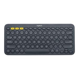 罗技K380无线蓝牙键盘平板手机专用2018新款小巧便携安卓苹果ipad air2/pro/mini男生白色女生粉色可爱K480