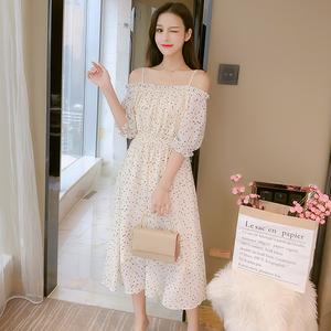 马来西亚台湾新加坡泰国越南女装服装衣服批发吊带雪纺连衣裙