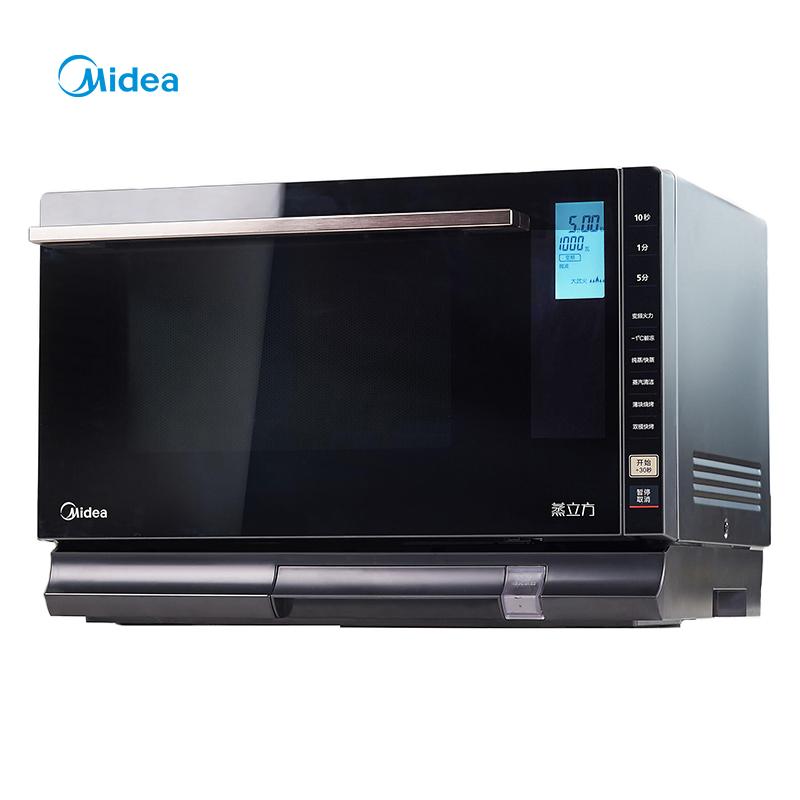美的X5-L253E微蒸烤一体机微波炉烤箱电蒸箱家用烘焙多功能全自动