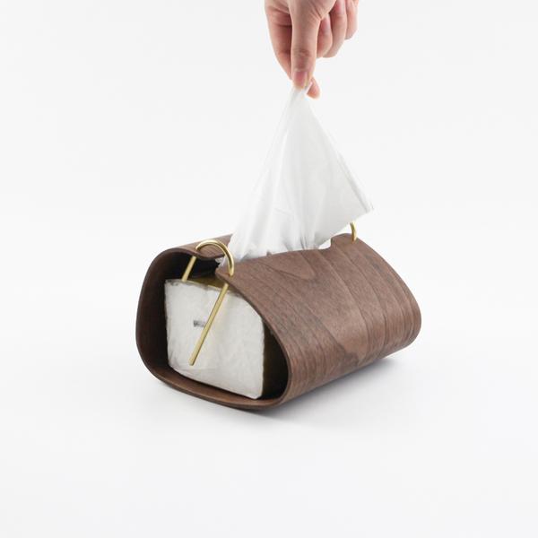 虚室杂陈 简约北欧日式家居卧室客厅茶几创意实木质纸巾盒抽纸盒