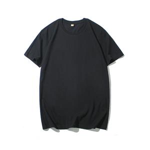 男士短袖t恤白色潮流纯棉大码夏装圆领宽松韩版衣服夏季体恤男装T